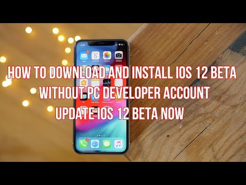 How to Download and Install iOS 12 Beta 1 Without Developer Account