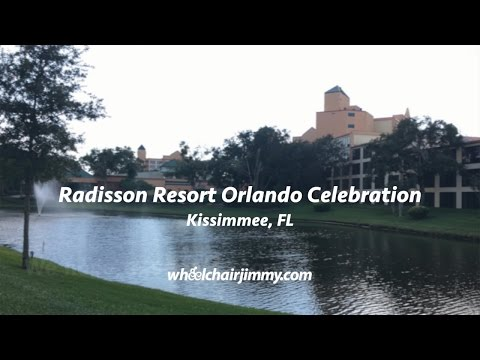 Radisson Resort Orlando Celebration FL - Wheelchair Accessibility Review