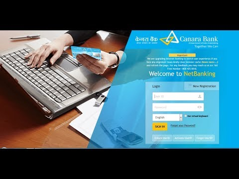 How to apply for canara bank internet banking online in just 10 minutes.. Hindi me