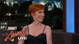 Kathy Griffin is Friends with Stormy Daniels