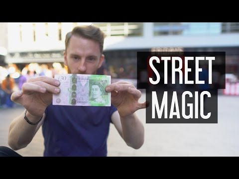 Street Magician: A Day In The Life