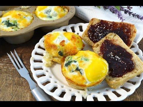 Sausage Egg Spinach Breakfast Cups - Egg Bake Muffin Tin Recipe   RadaCutlery.com