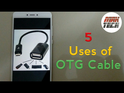 Use OTG Cable in 5 Awesome Ways | in Hindi | MAK TECH