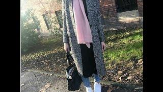 cdab3acb8 أجمل ازياء المحجبات شتاء 2017 ملابس شتوية للمحجبات - winter hijab outfits  -part 7