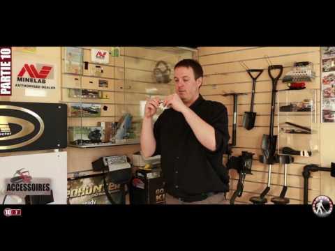 Les accessoires pour détecteurs de métaux (extrait du DVD)