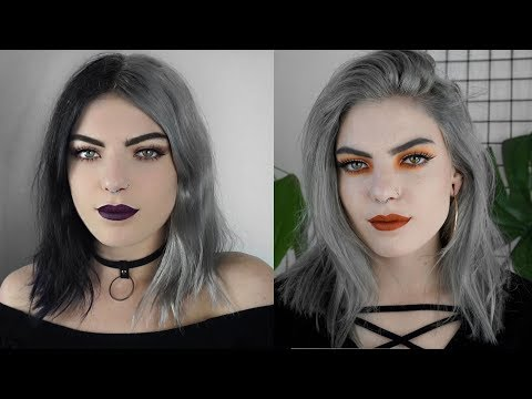 HOW I WENT FROM BLACK TO SILVER HAIR IN LESS THAN A WEEK