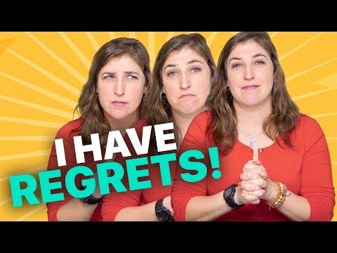 I Have Regrets! || Mayim Bialik