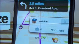 Police say Waze traffic app could put officers at risk