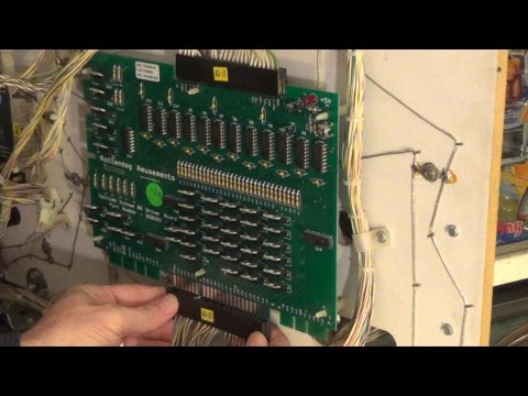 How to Install a Gottlieb Pinball System 80 Driver Board
