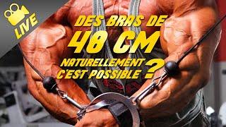 Est -il Possible D'obtenir Un Bras De 48 Cm De Circonference Sans  Dopage ? Oui Et Non!!