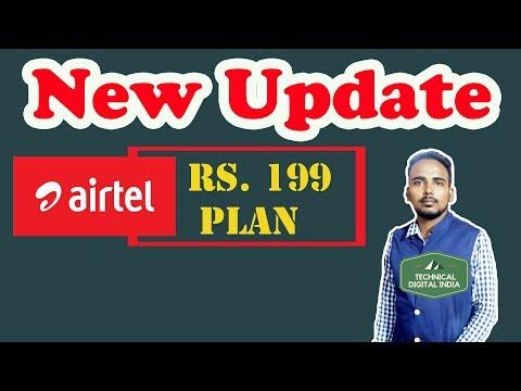 Jio Effect :New Update Airtel Rs 199 4G plan, Unlimited Voice Calling, Data Plan | Airtel 4G, Jio 4G