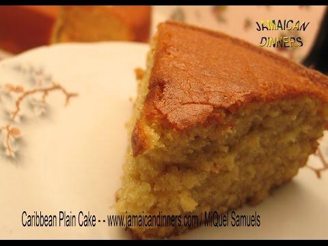 CARIBBEAN PLAIN CAKE recipe