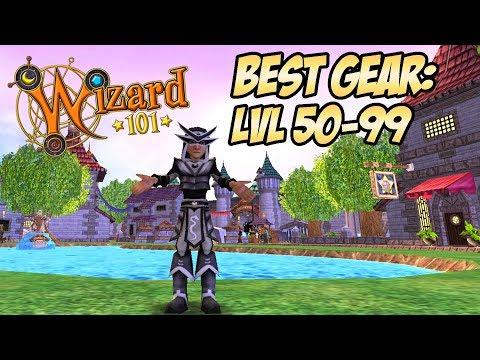 Wizard101 Gear Guide: BEST GEAR LVL 50-99