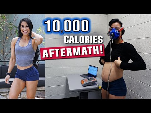 10,000 Calorie Challenge Aftermath | Scientific Study Results | What Happened?