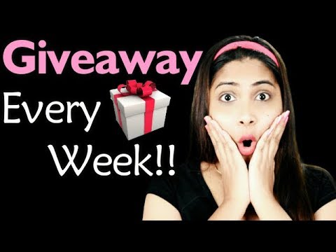 Giveaway Every Week - Enter and Win Gifts Every Sunday | Rabia Skincare