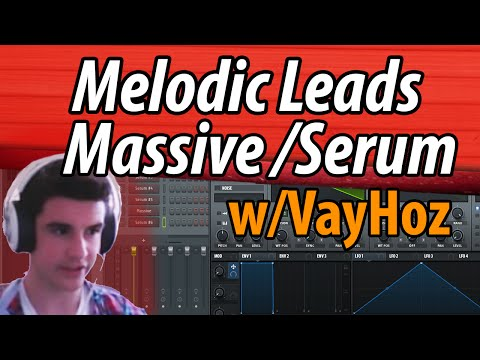 How to make Melodic Leads in Massive/Serum