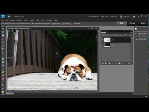 How to Combine Photos Using Photoshop Elements 10