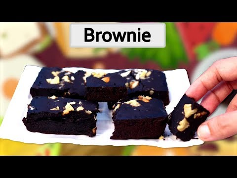 Brownie Recipe in Hindi ब्राउनी बनाने की विधि How to make brownies without eggs and oven in hindi
