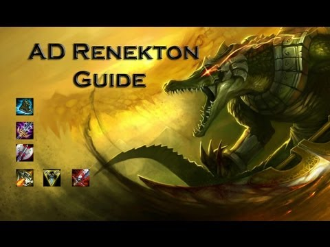 AD Renekton - Guide, How to Play solo top