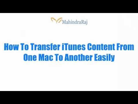 How To Transfer iTunes Content To Another Computer Using Home Sharing