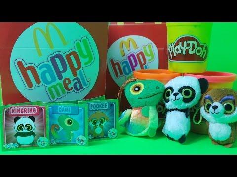 YooHoo & Friends McDonalds Happy Meal Toys 2015 - UK Unboxing