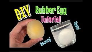 Download DIY How To Make A SQUISHY RUBBER EGG TUTORIAL!! Easy! Video