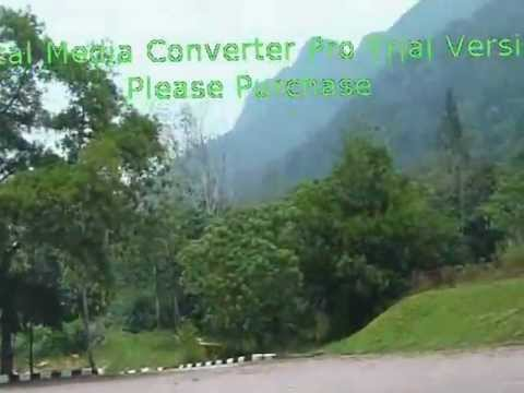 Driving to Cable car Location (Langkawi)