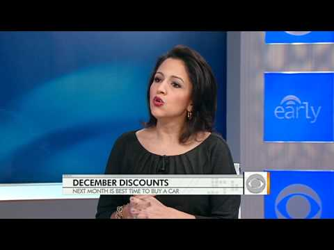 The Early Show - The best time to buy a car? Right now.