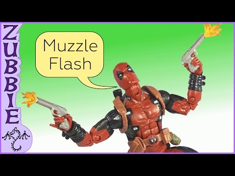 How to Make a Miniature Muzzle Flash Effect, DIY Action FIgure Prop