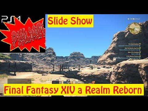 Final Fantasy XIV A Realm Reborn PS4 Beta Slide Show