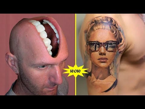 3D Tattoos That Are Too Perfect to Be Real |