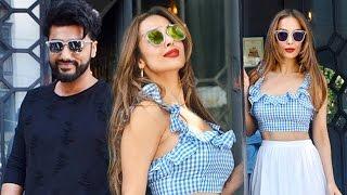 देखिये | Divorce के बाद Malaika Arora और Arjun Kapoor साथ आकर कर रहे है पार्टी