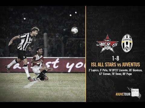 HIGHLIGHTS - ISL All Stars - Juventus 1-8
