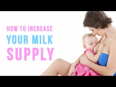 Not enough Breast Milk - How to increase Milk Supply