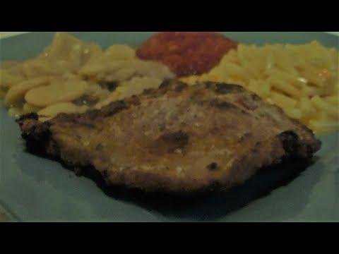 Pan Fried Pork Chops (Easy weeknight meal)