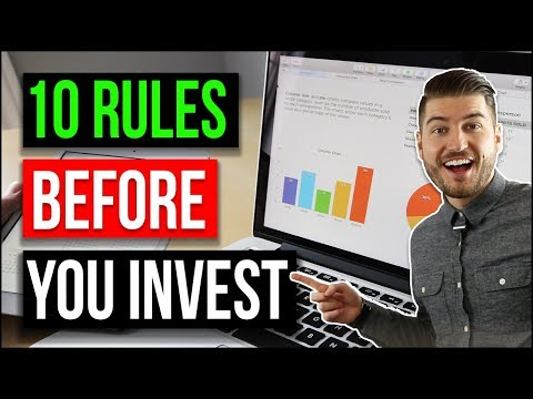 BEFORE YOU INVEST | 10 Investing Principles