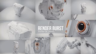 Free Blender 2.8 Add-on - Render Burst