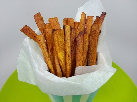 SWEET POTATO FRIES - oven baked (How to)
