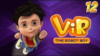 Vir: The Robot Boy   Hindi Cartoon Series For Kids   Volcano   Action Cartoons   Wow Kidz