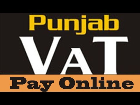 How To Pay Punjab VAT Tax (Value Added Tax) Online