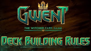 The Rules Of Building Decks In GWENT