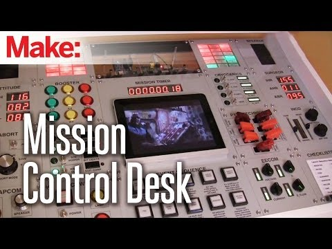 Making Fun: Mission Control Desk