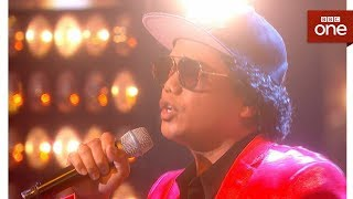 Bruno Mars tribute act Jeff Dingle sings Treasure - Even Better Than the Real Thing - BBC One