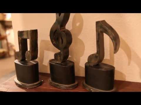Uttermost 19280 Music Symbol Figurines