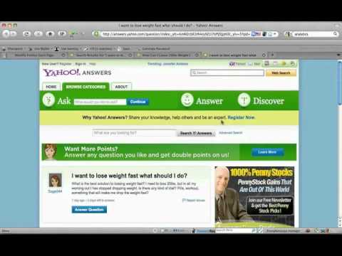 Learn how to use Yahoo Answers to make a six figure income