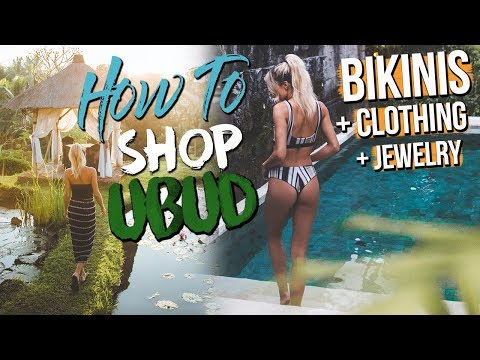 HOW TO SHOP IN UBUD | BALI