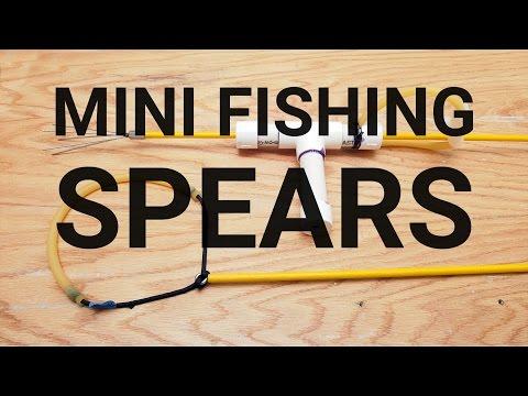 How To Make Mini Fishing Spears