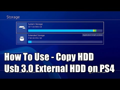 How To Use Usb 3.0 External Hard Drive on PS4 Firmware 4.50 Guide