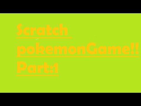 Scratch pokemon game