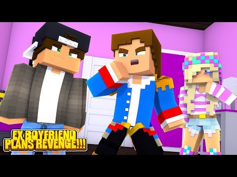 Minecraft LITTLE LEAH'S EX BOYFRIEND LIES TO LITTLE DONNY ABOUT LEAH!!!